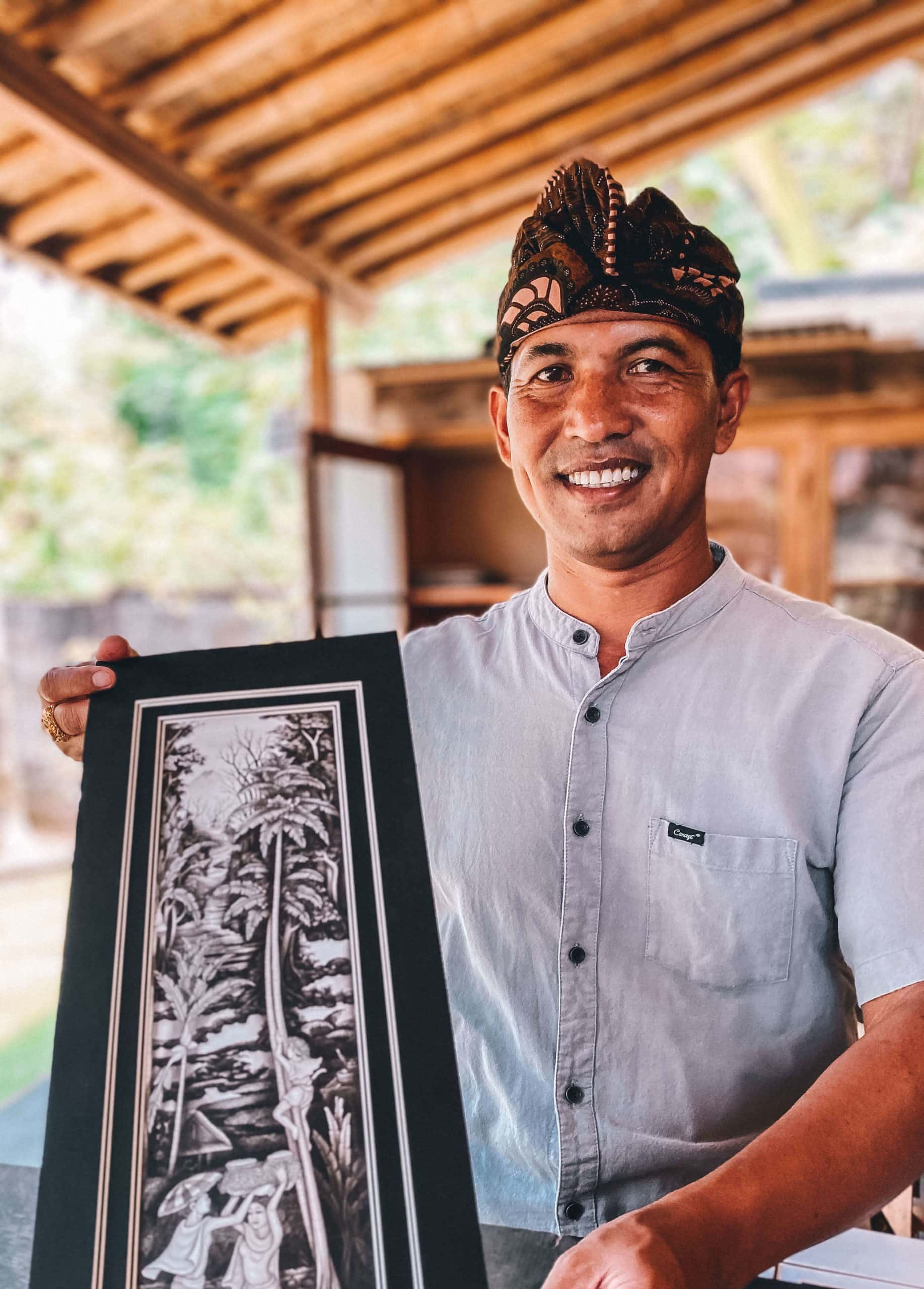 Tour guide in Bali