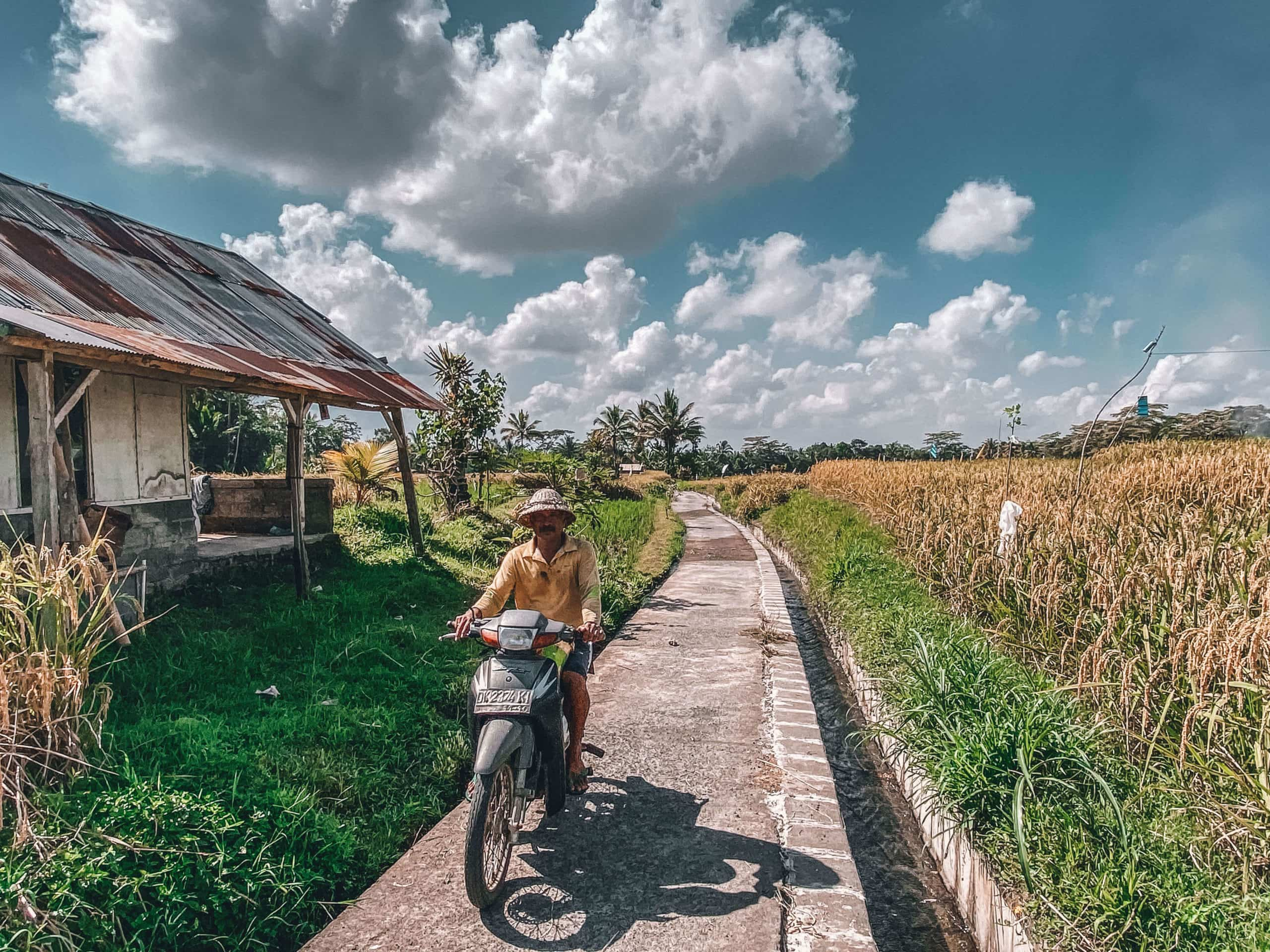 Village life in Bali