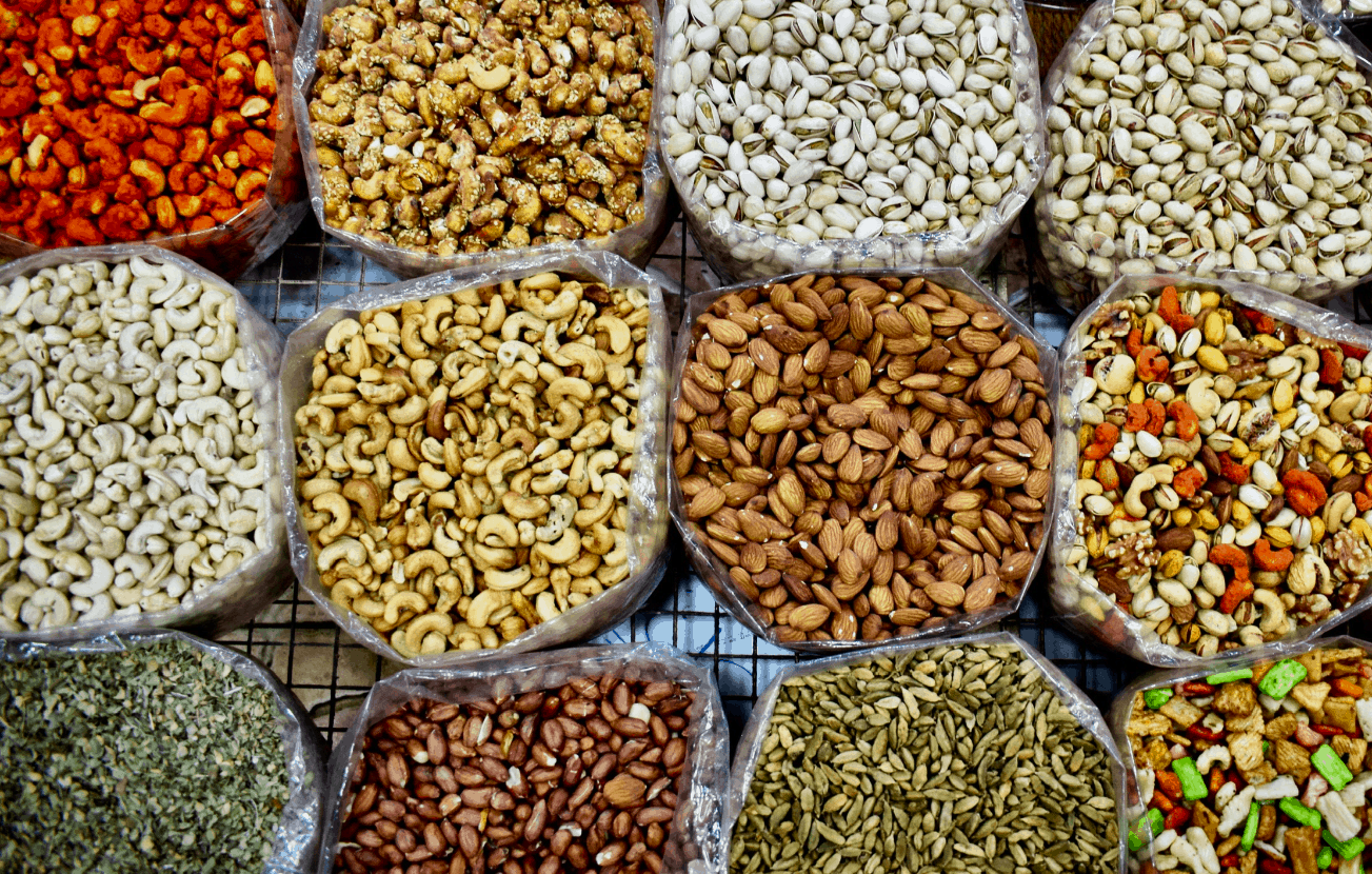Spices in an Oman souq