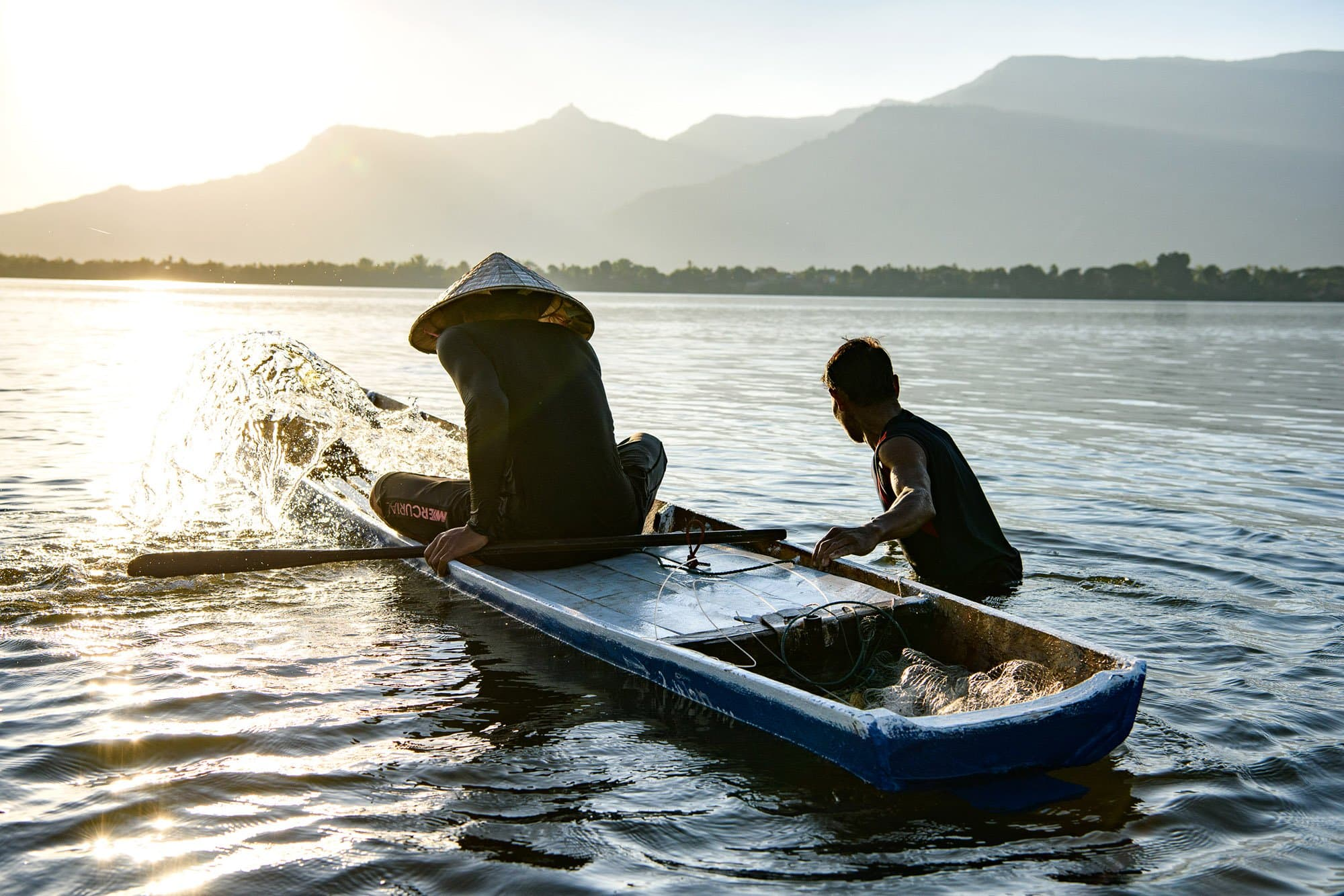 Don Daeng, Laos fishermen photography