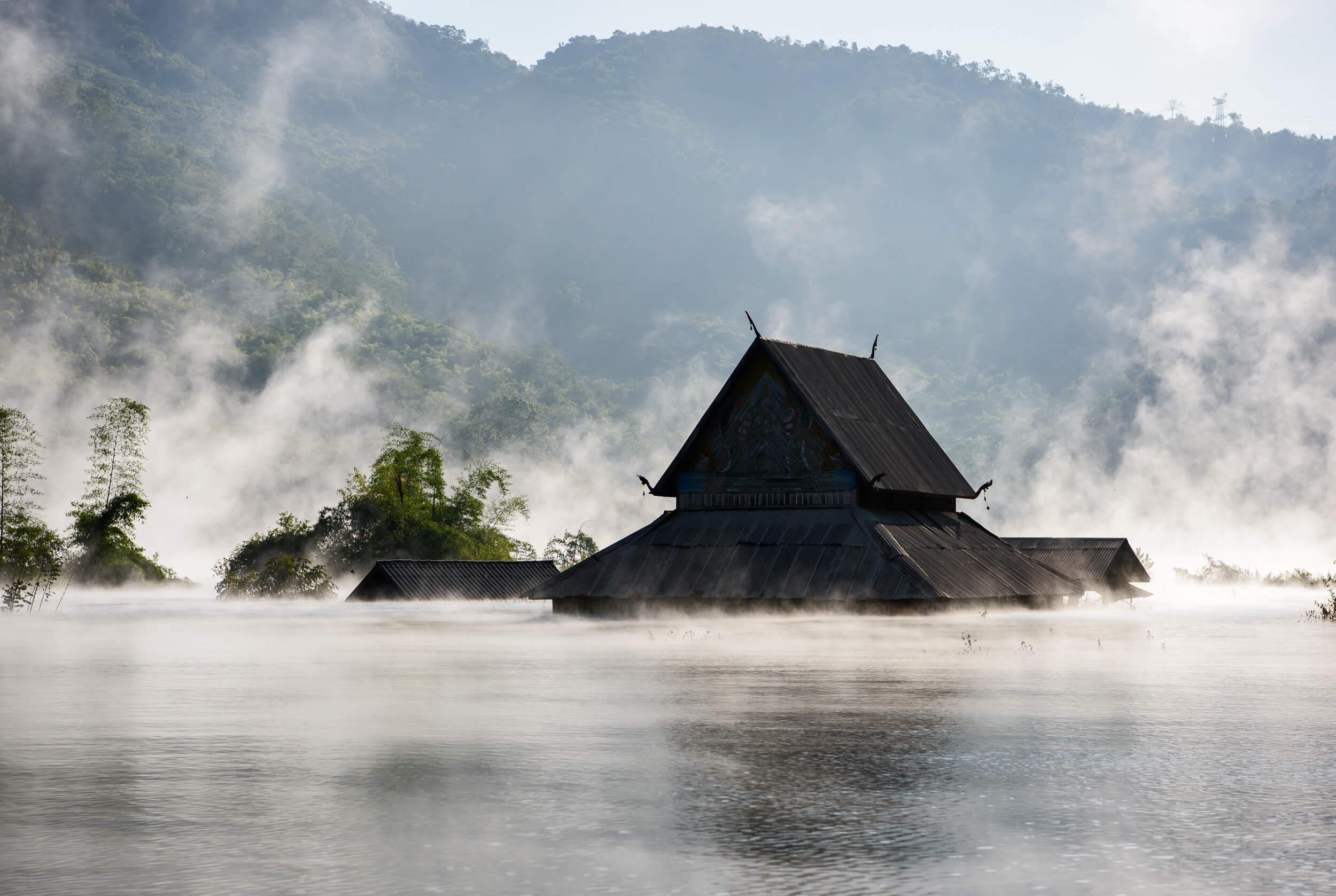 Nam Ou River in Laos