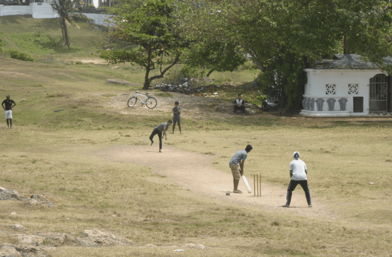 Local Sri Lanka Cricket Game