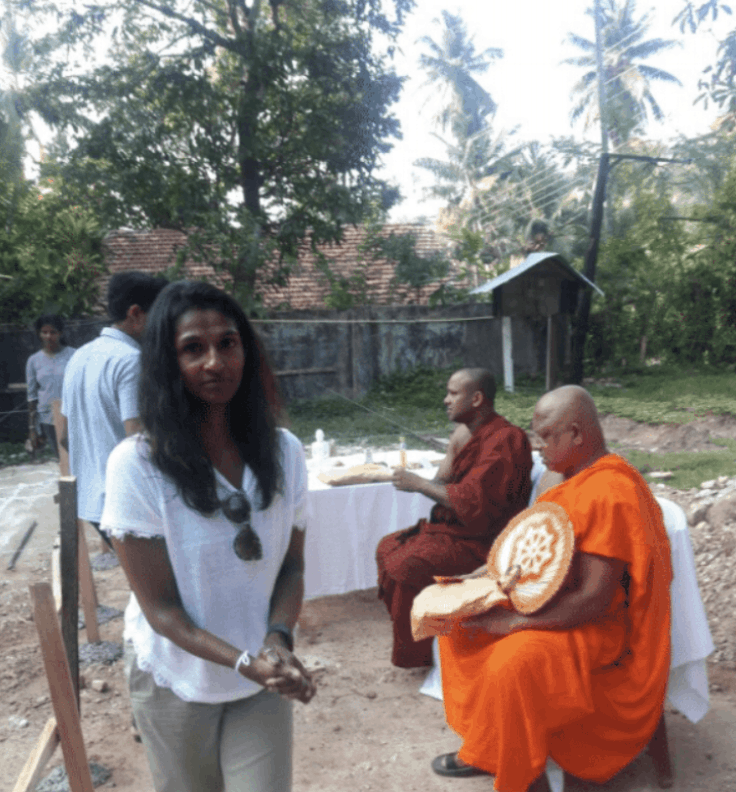 Sri Lanka Family Experience with Buddhist Monk