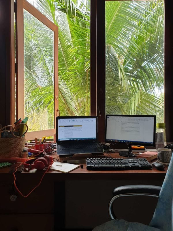 In Country partner tropical desk in Sri Lanka