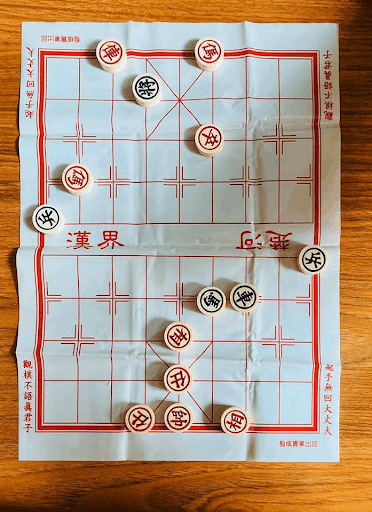 Vietnamese board game played by locals