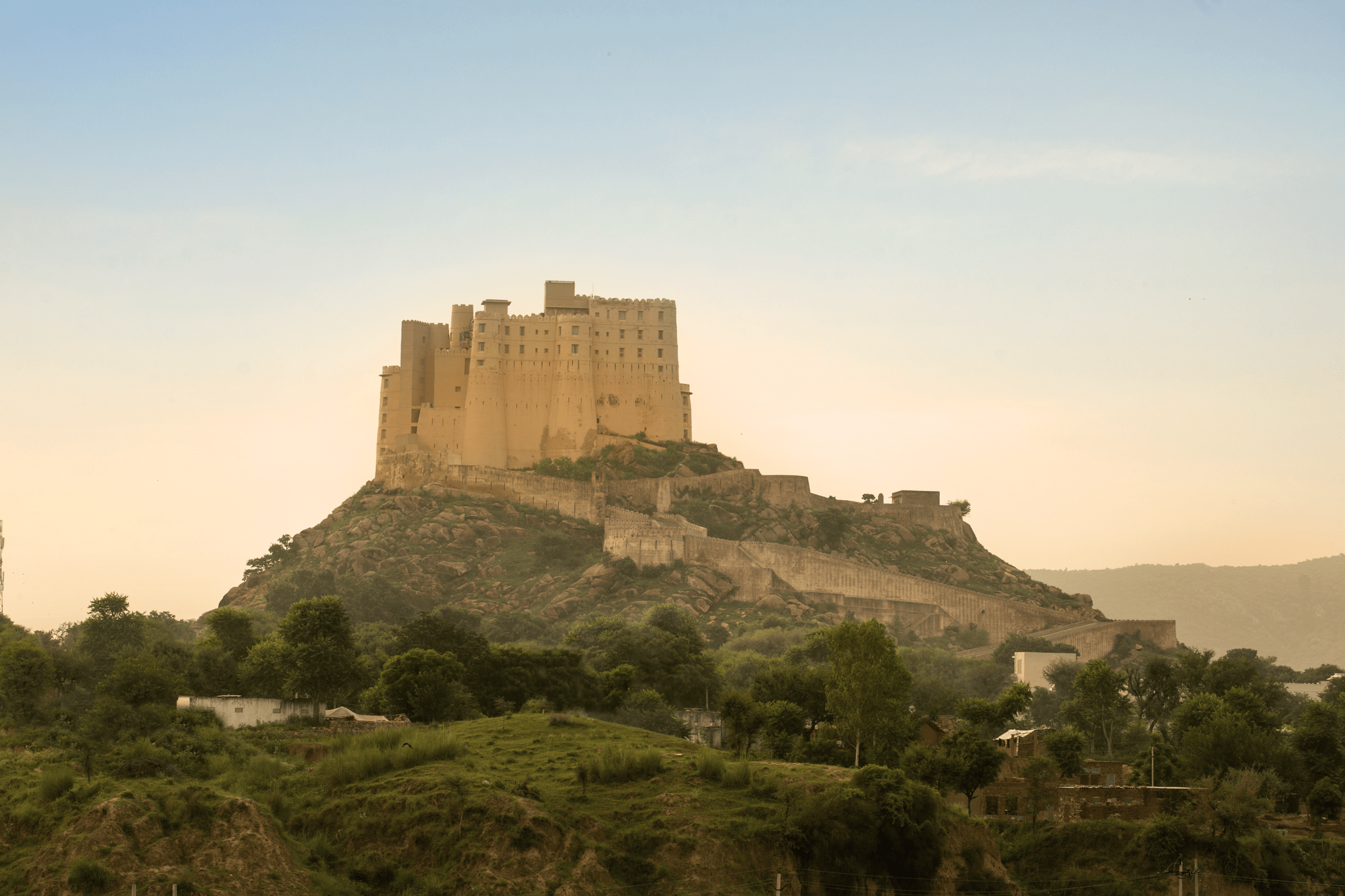 Alila Fort outside Jaipur in north India