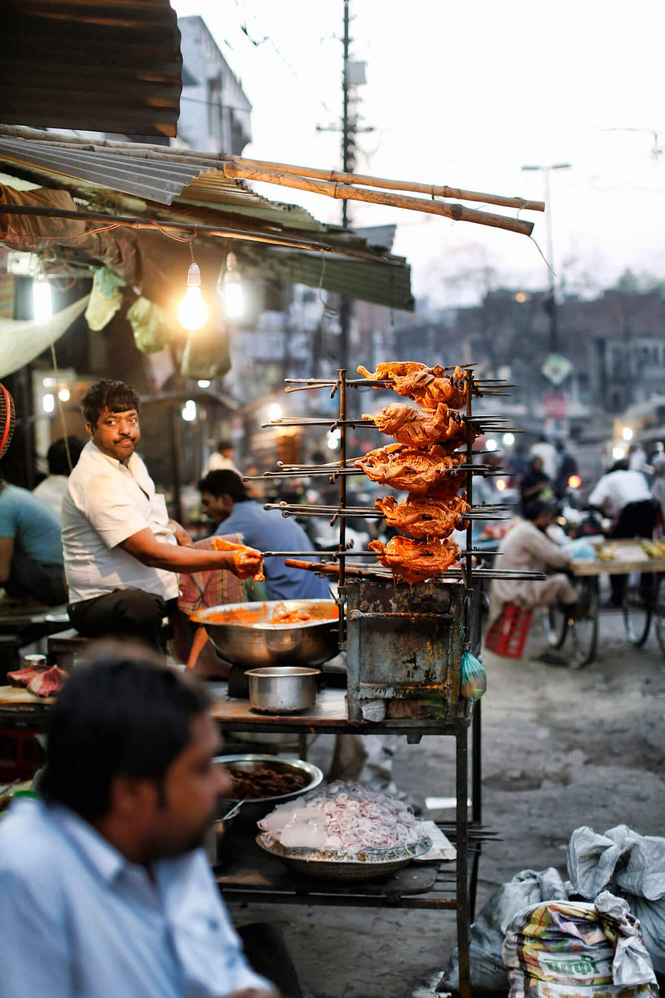 Meat in India market
