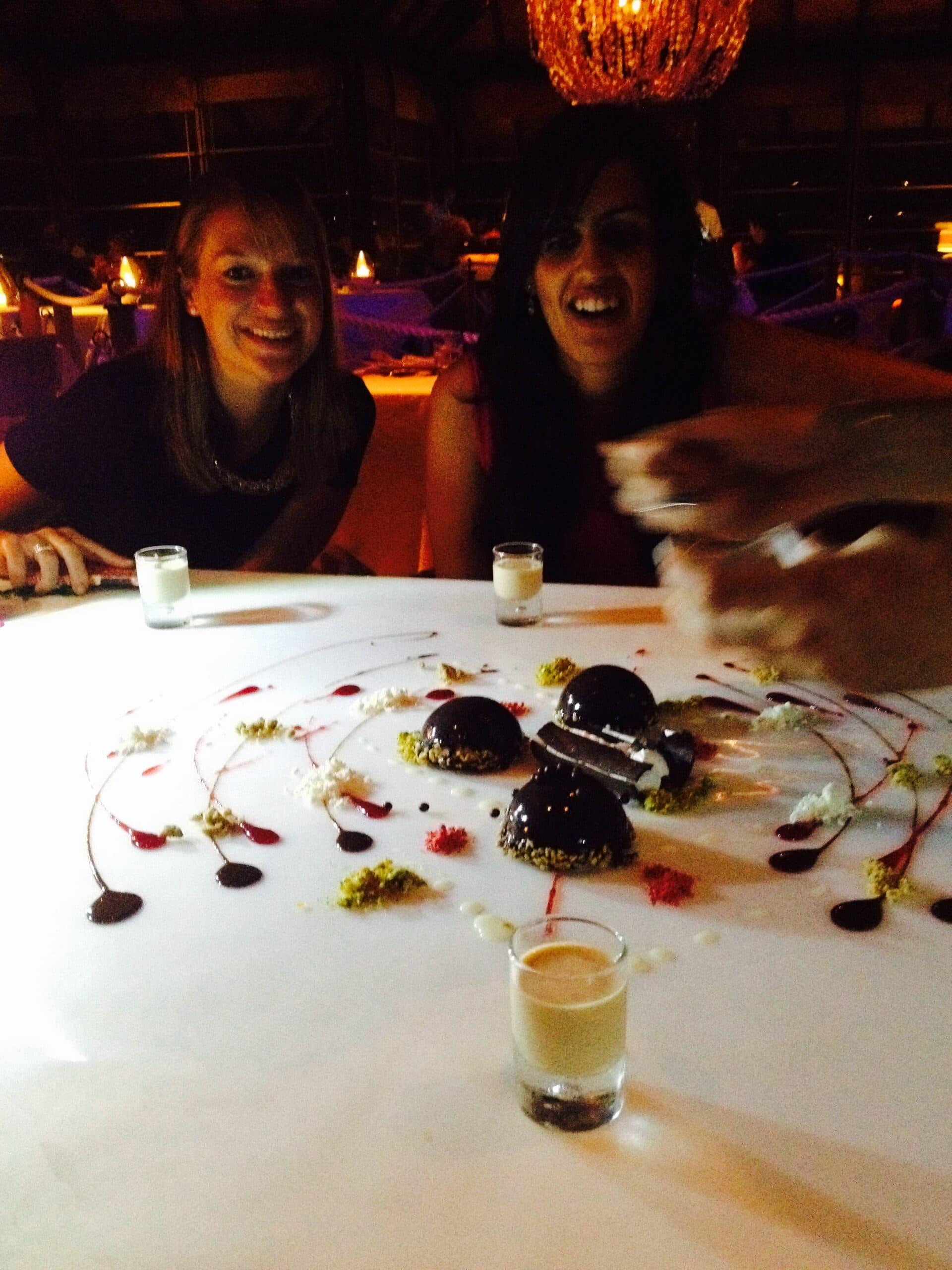 A magical dessert experience at Taj Exotica in the Maldives