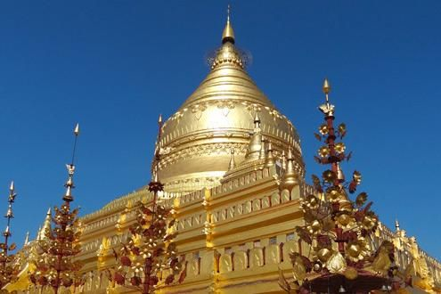 Glorious Temples To be found throughout Burma and included in many of our varied itineraries