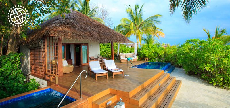 Baros north male atoll sri lanka and the maldives may for Best small beach hotels