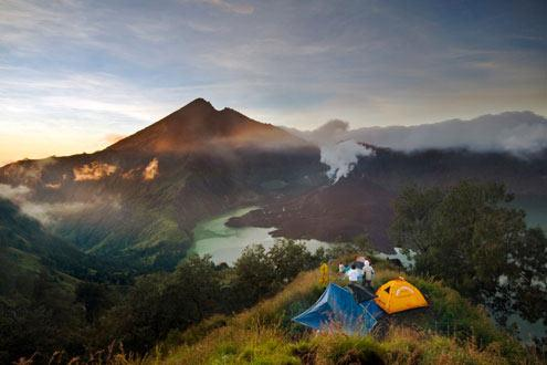 Mount Rinjani Four Day Trek