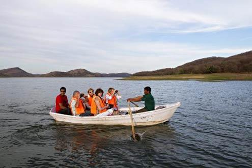 Ramathra by Jeep and Boat