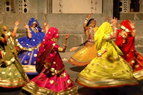 Rajasthani Folk Dance Performance