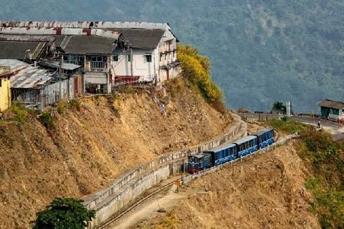 Toy Train Darjeeling to Ghoom