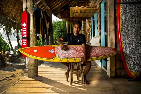 Surfing the Sumba Waves