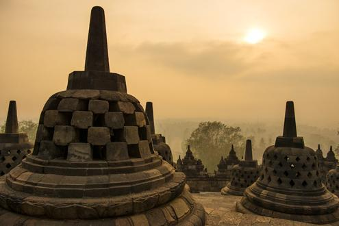 Borobudur Sunrise and Candirejo Village