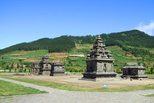 The Ancient Ruins of Dieng Plateau