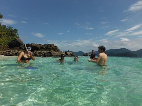 Snorkelling Around the Mergui Islands