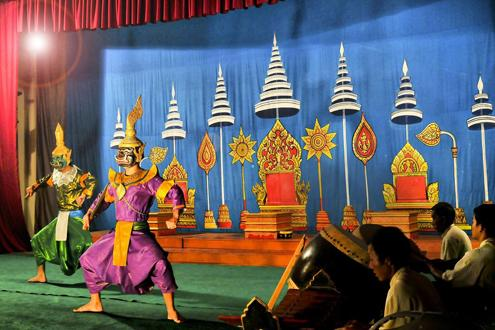 Night at the Ballet - Phra-Lak-Phra Lam, Luang Prabang