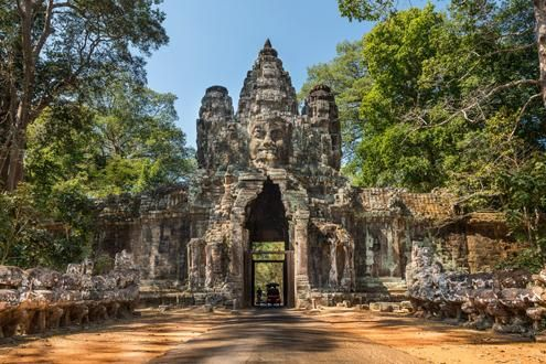 Ancient city of Angkor Thom and Bayon