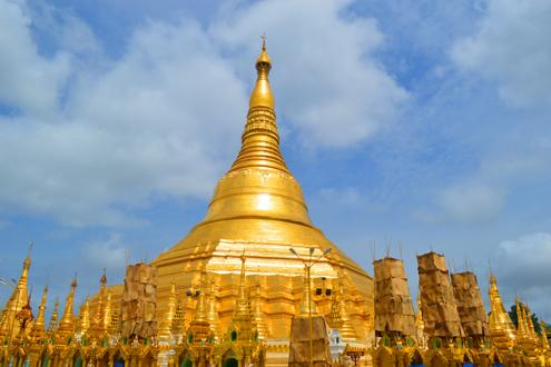 The Shwedagon Pagoda, Yangon