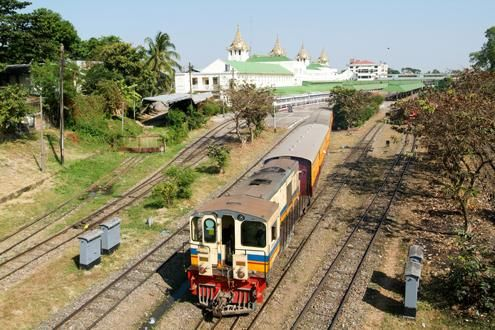 The Yangon Circle Train