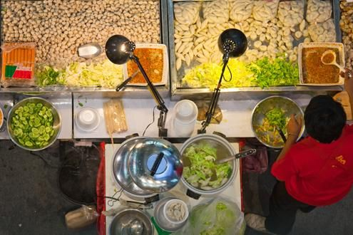 Street Food of Chinatown (evening)