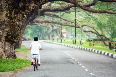 Cycling Through Rural Penang