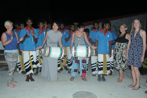 Boduberu drumming lesson