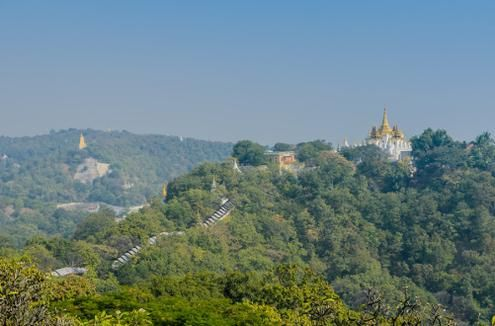 The Pagodas of Sagaing