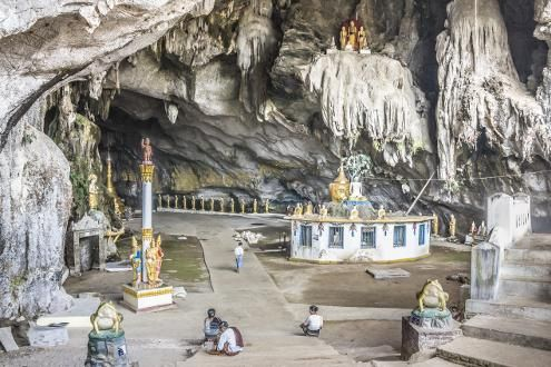 Hpa An Caves