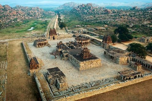 Temples & Monuments of Hampi