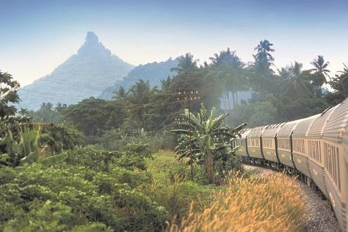 Eastern & Oriental Express Train & Luxury Beach