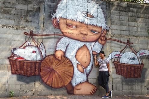 The Street Art of Bangkok