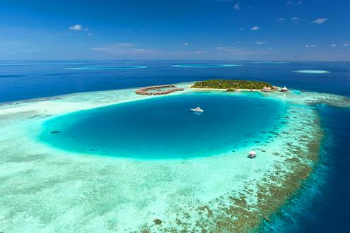 Google Map Showing Bandos Island