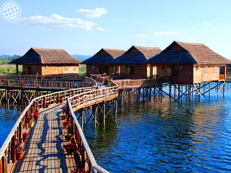 Golden Island Cottages Lake Inle Experience Travel Group