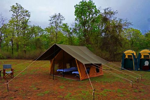 Trekking and Camping at Satpura