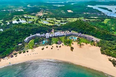 Google Map Showing Shangri La Rasa Ria Hotel Kota Kinabalu Borneo