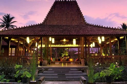 Stay in the Amata Borobudur