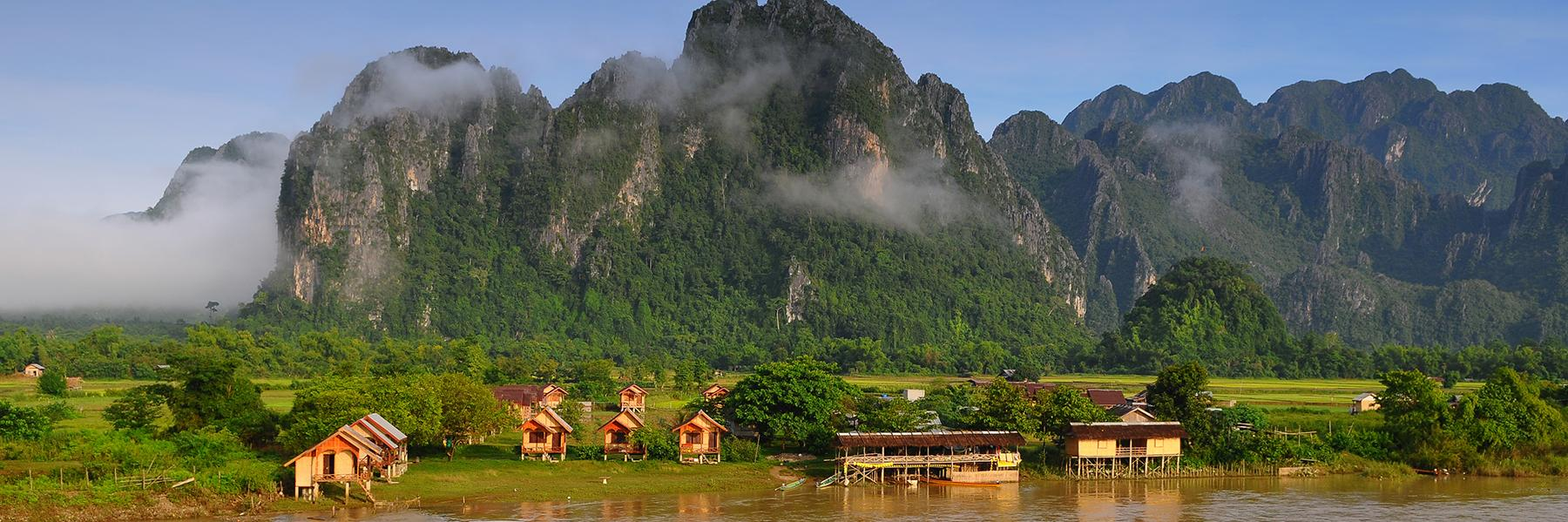 Contrasts of Laos and Cambodia