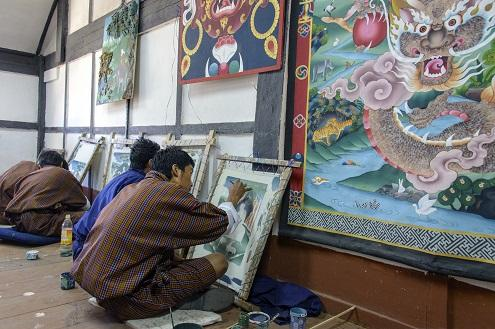 The 13 Arts & Crafts of Bhutan