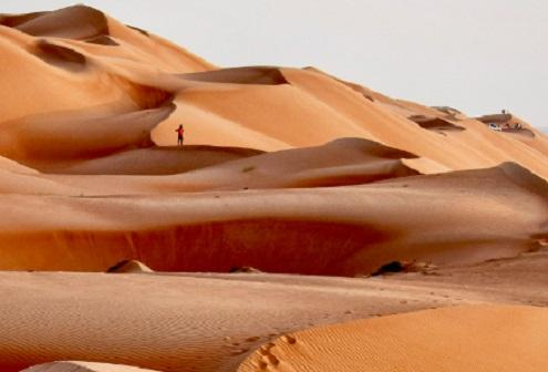A Day in The Empty Quarter