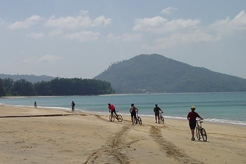 Beach and Island Cycling Adventure