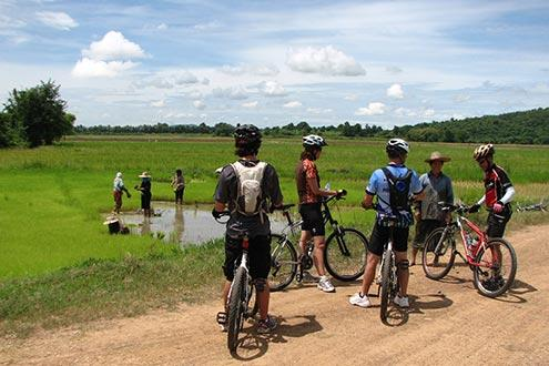 Chiang Mai to Bangkok overland by bicycle