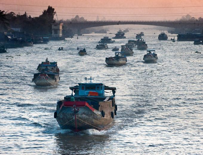 Overnight On The Mekong
