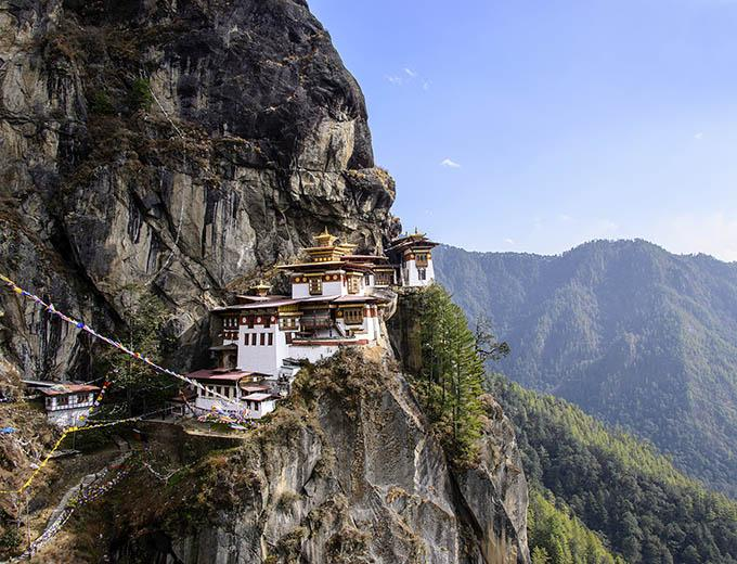 Camp Above Tiger's Nest Monastery