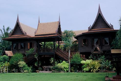 The thai house thailand experience travel group for Thai style house plans