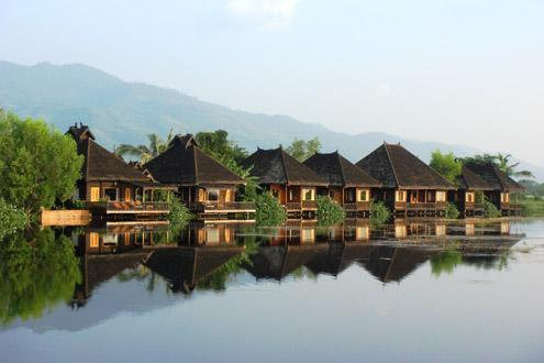 Inle Princess Resort, Lake Inle, Burma