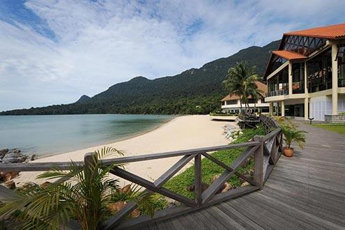 Google Map showing Damai Puri Resort Spa Hotel Santubong