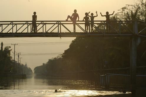 The 'klongs' (Canals) of Bangkok